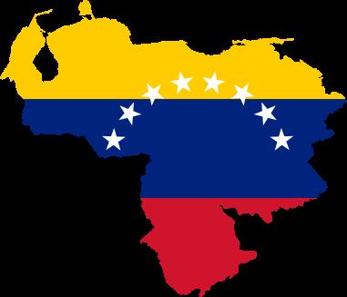 venezuela-flag-map