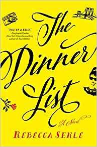 dinner list cover