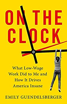 on the clock cover